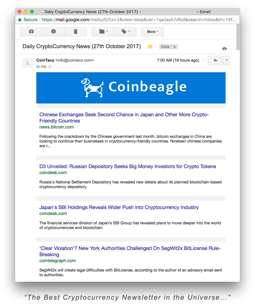 Cryptocurrency newsletter snooker betting tips